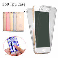 Ultra Thin 2in1 color 360 ful Soft TPU Front Case + Shockpro...