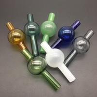 OD 25mm colorato vetro universale carb tappo dabber per secchio quarzo termico vetro banger tappo carb dabber spessore vetro pyrex acqua tubi