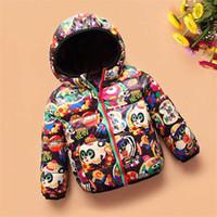Niños niño niña invierno traje de nieve abrigo con capucha niños flor parkas niño abajo abajo chaqueta niños ropa de navidad prendas de vestir exteriores