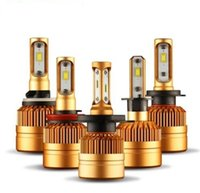 2pcs S2 Car Headlight H7 Led H4 Bulb H1 H3 H8 H11 9005 HB3 9...