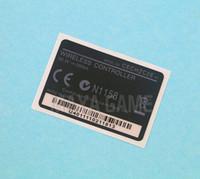 Yüksek Kaliteli geri lable Konut Shell Sticker Contalar için PS3 Playstation 3 Kablosuz kolu Denetleyici B Versiyon