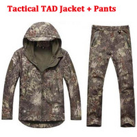 Softshell TAD Hunting Tactical Jacket Or Pants Thin Fleece L...