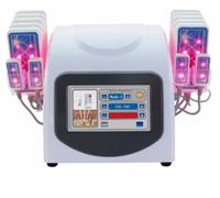 El profesional más nuevo 14080mw 635nm-650nm Lipo láser de lipólisis LLLT caliente 14 almohadillas adelgazante Máquina de belleza de pérdida de grasa