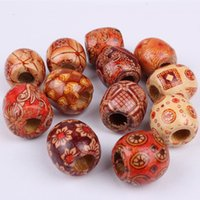 ZhiFan 16*16mm Wooden Micro Beads Micro Ring Loop Hair Exten...