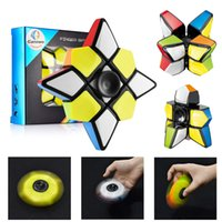 Fidget Toy Spinner Cube, Brain Teasers Magic Puzzle Spinners...