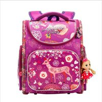 Famous Brand Children School backpack Cute Deer Princess Gir...