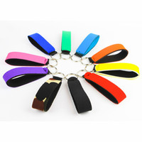 Neoprene Keychains Wrist Strap Key Holder Soft Neoprene Key ...