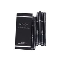 CALIENTE Maquillaje de alta calidad NYX Cosméticos Skinny Eye Marker Impermeable Negro Líquido Delineador de ojos Delineador de ojos Lápiz de larga duración