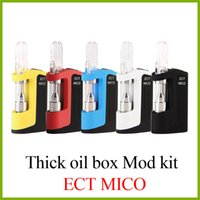 authentic ECT Mico vape starter kits with 0. 5ml ceramic G5 v...
