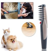 Safely Auto Pet Dog Hair Brush Dog Grooming Combs Cuts Sciss...