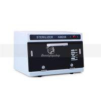 Herramienta de uñas esterilizador del hogar de alta temperatura de desinfección UV de uñas Equipo de uñas herramienta Esterilizador Caja Gabinete para el salón