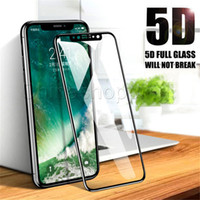 5D Full Tempered Glass Screen Protector Hardness Anti Scratc...