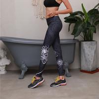 Nueva llegada de la flor de loto mujeres polainas mujeres ropa para el hogar ropa para el hogar ninnths pantalones deportivos polainas delgado pantalones de yoga