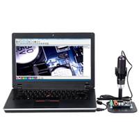 مجهر رقمي 50-1000X 8LEDs USB صغير مع تكبير المنظار المكبر مع حامل قابل للتعديل كاميرا 1.3MP صحيح عالية الدقة الفيديو