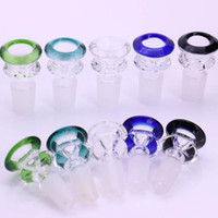 14mm 18mm Glass Bowl Color Mix Bong Bowl Male Bowl Piece For...