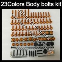 Boulons de carénage Kit à vis entier pour Honda CBR600RR 03 04 05 06 CBR600 RR CBR 600 RR 2004 2004 2005 2006 NUTS BODS VIS VIS KIT DE BOUTON DE NOTE 23Couleurs