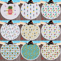 Asciugamano da spiaggia rotondo morbido in microfibra 150cm Asciugamano da spiaggia morbido super assorbente in nappa Estate frutta ananas Asciugamano da spiaggia Tapestry 31 disegni