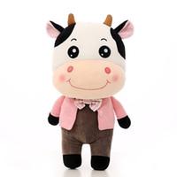 muñeco de peluche de vaca pareja juguetes regalo creativo muñeca de la muñeca el día del niño
