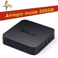 Hot MXQ PRO MXQ-4K S905W Android 7.1 TV BOX da 1 GB 8 GB Amlogic Quad Core HD 4K WiFi Smart Streaming Media Player Meglio MXQ Pro S905X