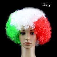 2018 FIFA WORLD CUP WIG Football Fans Wig National Flag Colo...