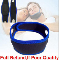 Горячие продажи Неопрен Anti Snore Chin Strap Stop Snoring Belt Anti Apnea Jaw Solution Sleep Device