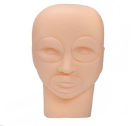 Neue Semi Permanent Make-up Tattoo Augenlippen 3D-Praxis-Haut-Mannequin-Kopf Training-Tools Hot