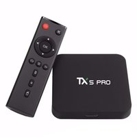 Hot selling TX5 pro Android 6. 0 TV BOX Amlogic S905X Quad co...