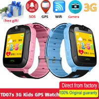 TD07S Kids Smart Watch 3G Сеть GPS LBS Wifi Tracker Местоположение SOS Dial Call Camera Детские дети Умные часы для IOS Android