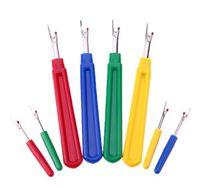 8 unids / set cortador de hilo costura destripador puntada herramienta de costura unpicker mango de plástico herramienta de artesanía accesorios de costura (4 grandes 4 pequeños)