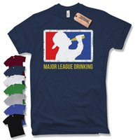 6b01831acdd89c MAJOR LEAGUE TRINKENDES T-SHIRT - Kult Fun Party lustig Bier Funshirt  Alkohol Lustig versandkostenfrei