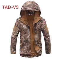 Tactical TAD jacket softshell Waterproof Windproof Jackets A...