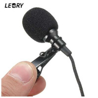 LEORY 2. 5m Omnidirectional Metal Microphone 3. 5mm Jack Laval...