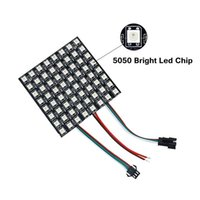 Edison2011 DC5V WS2812 Pixel LED Panel Chip 8x8cm Vollfarben Panel Screen Modul Adressierbares LED Modul