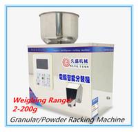 Nahrungsmittelautomatische Rackingmaschine 2-200g 220V / 110V intelligentes wiegende Füllmaschine Subpackage-Gerät für granuliertes / Pulver