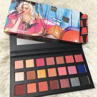 STOK !! Sıcak Marka Makyaj Paleti Sipping Pretty 21colors Göz Farı paleti 21 Doğum Sürümü Toz Göz Farı DHL nakliye Preslenmiş