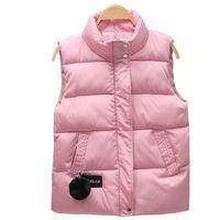 Mandarin yaka kolsuz kısa ceket kadın ceket yelek 2020 sonbahar kış kadın kadın artı boyutu chalecos para mujer yelek
