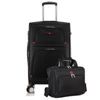 28 inch High capacity Oxford Rolling Luggage Set Spinner Sho...