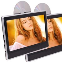 2PCS Dual 11. 6' ' Auto Monitor Car Headrest car DVD...