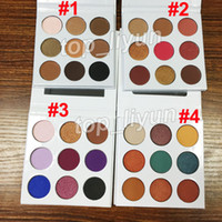 New 9 Colors pressed powder eye shadow palette 4 styles Eyes...