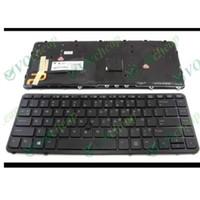 HP EliteBook 740 840 850 G1 G2 Zbook 14 백라이트 블랙 프레임 용 새 미국 영어 노트북 키보드 736654-001