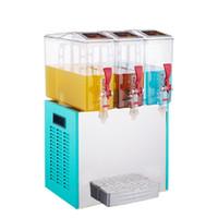 QiHANG_TOP 10L * 3 TROIS TERRAINS Distributeurs de boissons à froid commercial Machine / Traitement des aliments Distributeur de jus de jus de froide / Fabrication de jus de froide