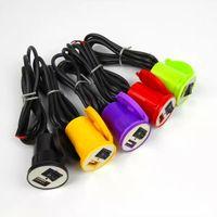 Moto voiture USB étanche 12V à 5V 1.5A Smart Phone GPS Chargeur adaptateur secteur avec LED Voyant moteur