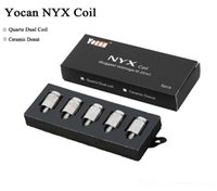 Authentic Yocan NYX Ceramic Donut Coils Quartz Dual Coils QD...