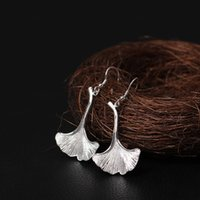 New arrival 925 Sterling Silver Earring fashion Ancient Gink...
