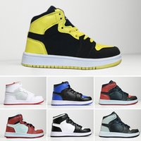 Hot sale 1 1s Kids basketball shoes Top Quality Boys Girls C...