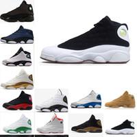 3bde46191be36 2018 13 zapatos de baloncesto para hombre Panda negro blanco verde oliva  Respeto de amor DMP