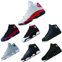 2018 nuevos 13 zapatos Chicago DMP Bred Basketball Men 13s Black Cat He Got Playoffs Hyper Pink Sneakers