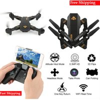 XS809HW Quadcopter Aircraft Wifi FPV 2. 4G 4CH 6 Axis Altitud...