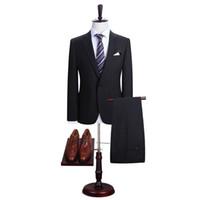 2019 Preço de Combinação Dos Homens Terno Slim Fit Casual One Button homens de Negócios do Noivo Smoking Jaqueta e Calças para Festa de Casamento da Festa À Noite