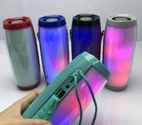 TG157 LED-Licht Universal Outdoor Wireless Mini Bluetooth Lautsprecher tragbare Übergewicht Subwoofer Auto Multifunktions Stereo Unterstützung TF-Karte